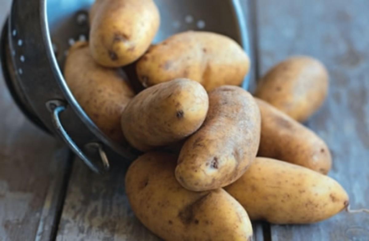 Gordon Ramsay Roast Potatoes with Chilli and Tumeric