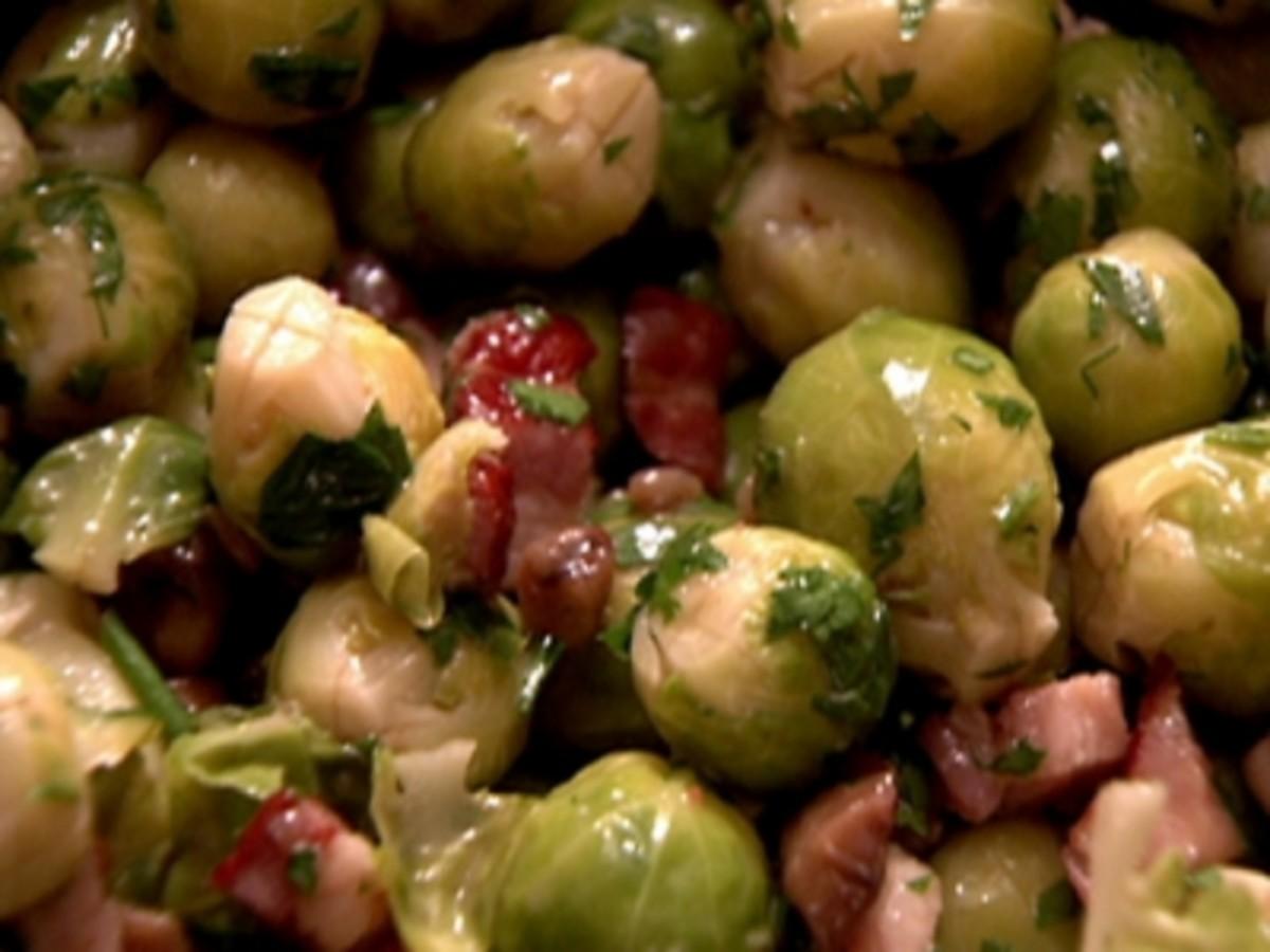 Gordon Ramsay's Pancetta Chestnut Brussel Sprouts