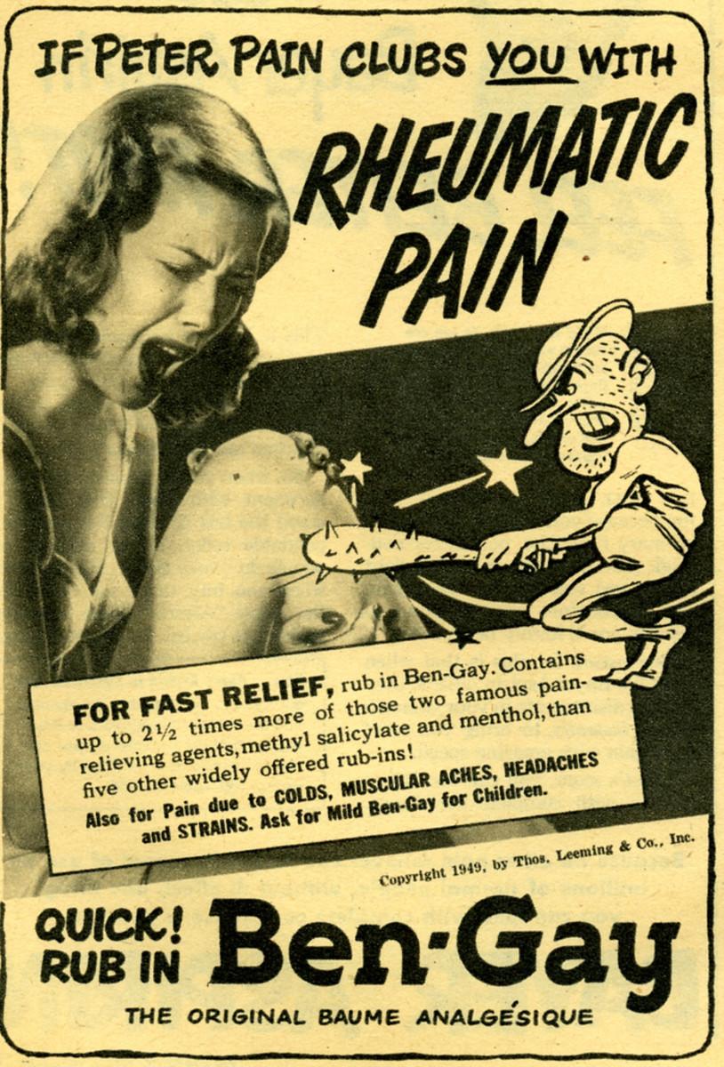 BenGay advertising