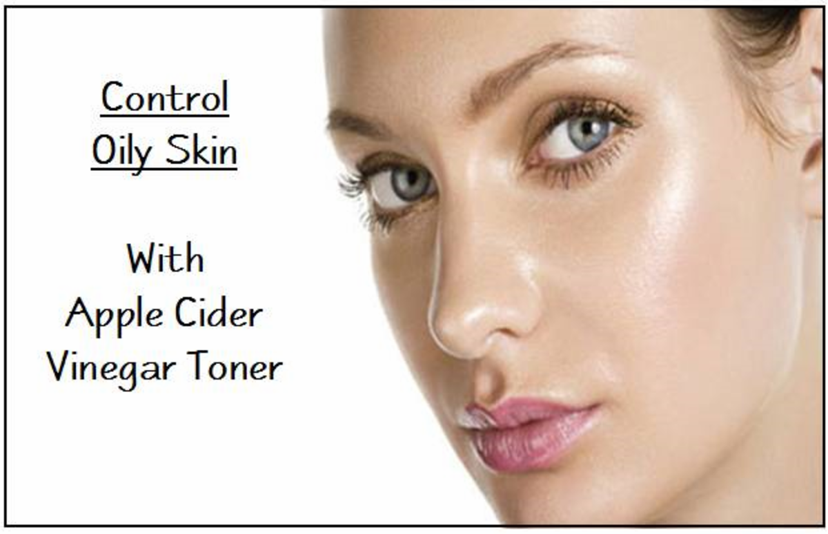 How to Control Oily Skin with ACV Toner
