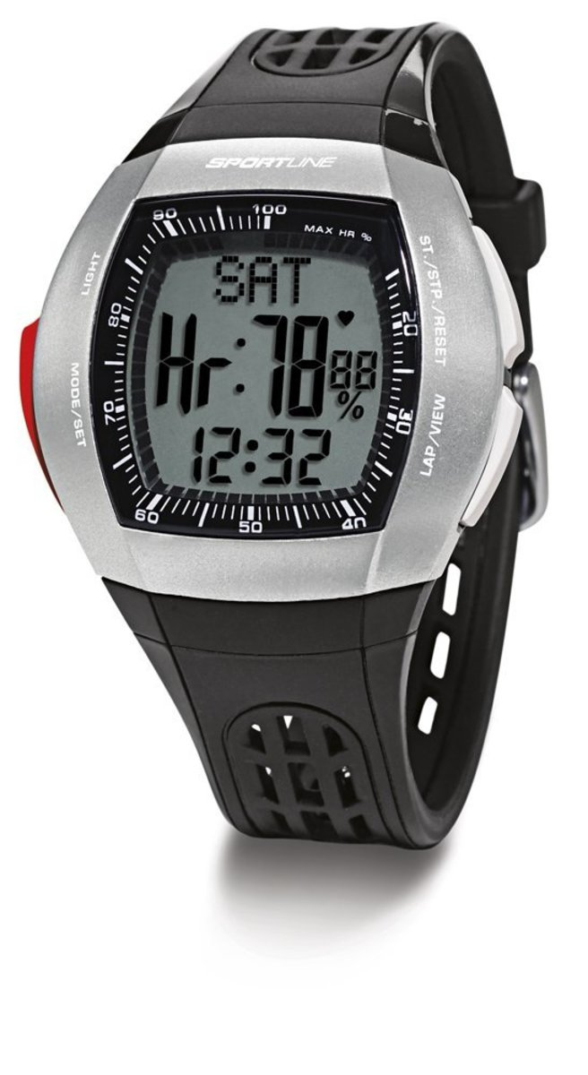 Sportline Duo 1025 heart rate watch for women.