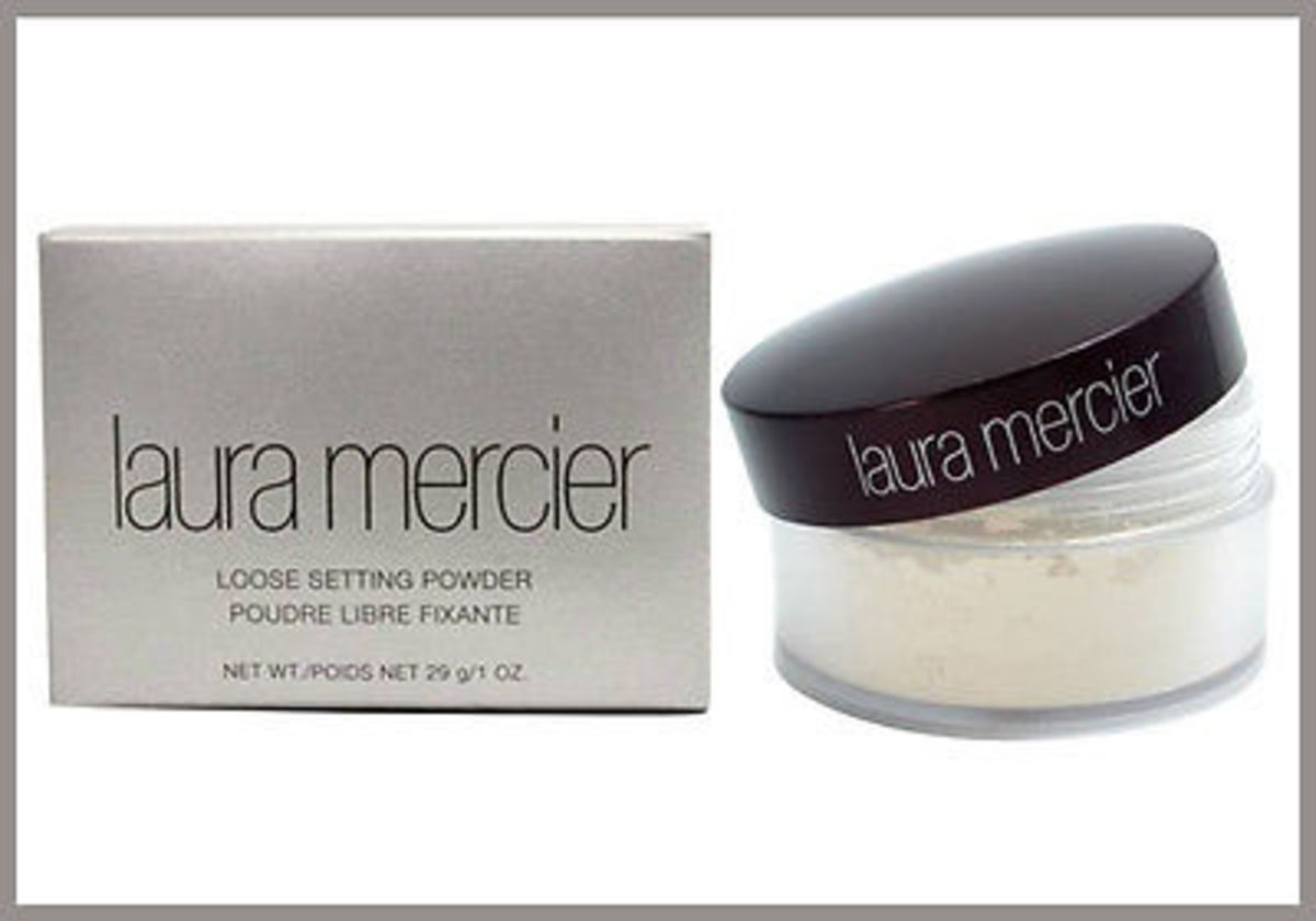#2 Laura Mercier Loose Setting Powder.