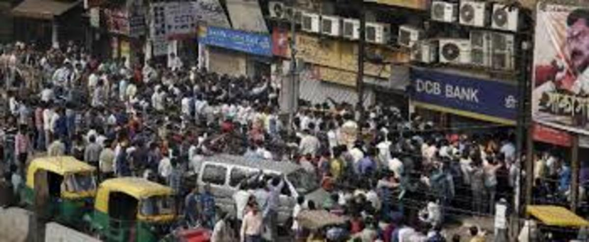The aggressive demonetization causing chaos in India