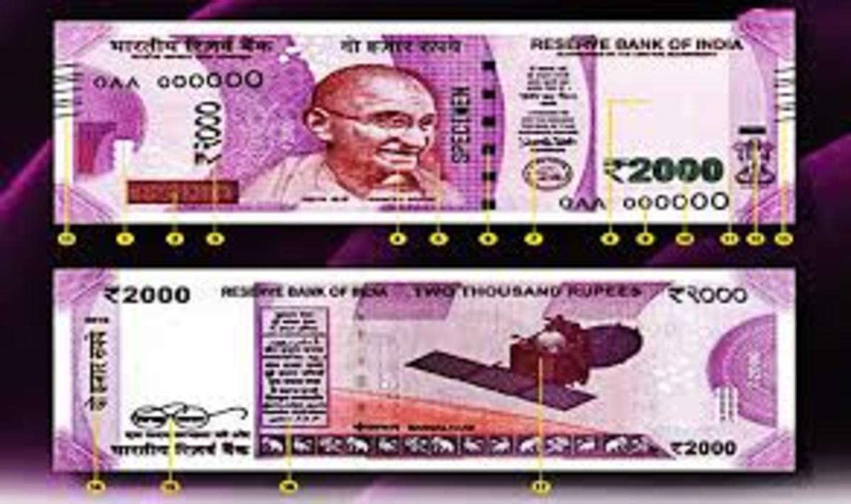 New Currency Note of Rs. 2000 Denomination