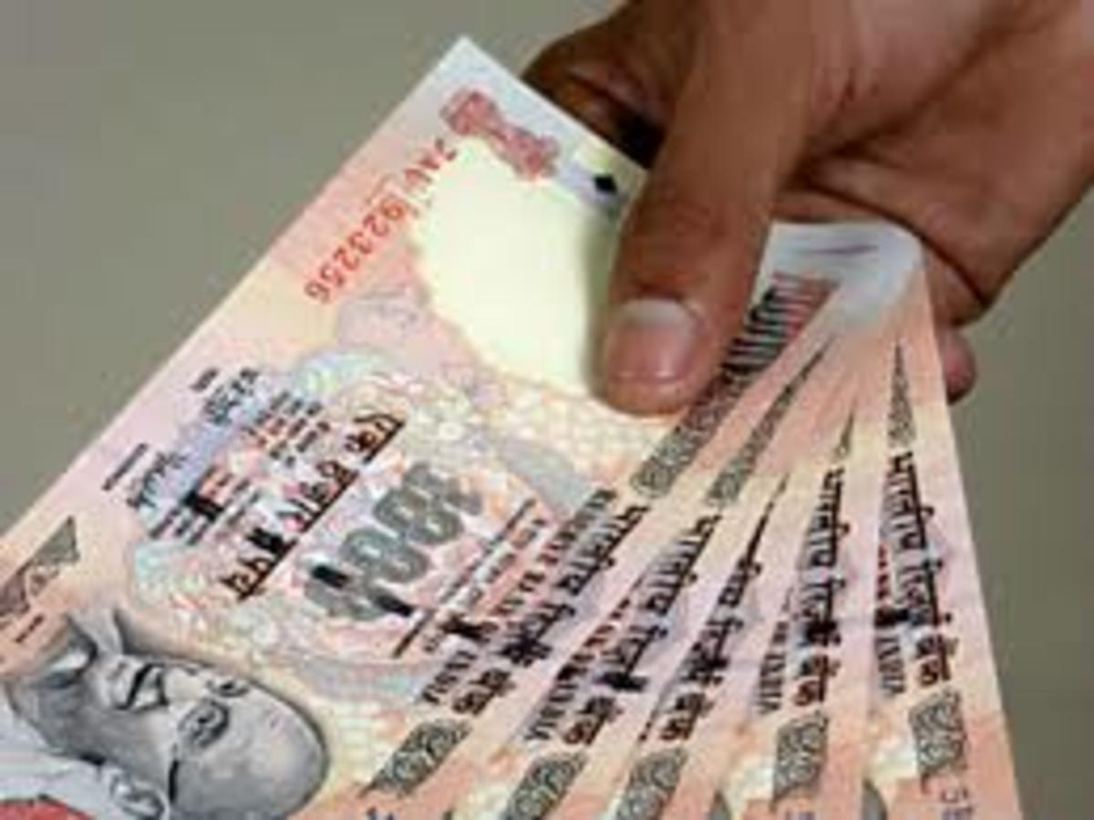 Banned Currency Notes of Rs. 1000 Denomination