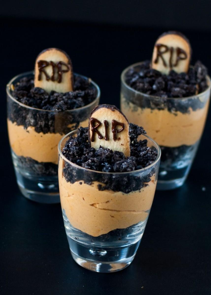 Graveyard Dirt Cups