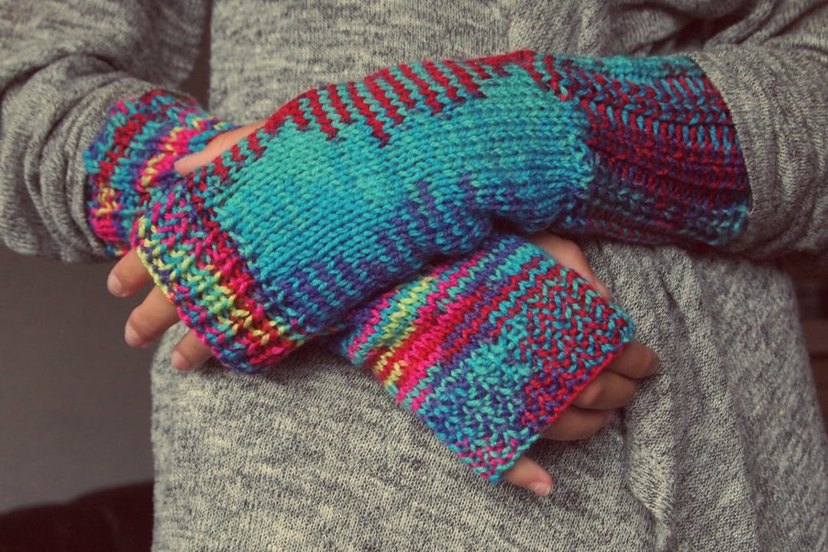 Gloves can help protect your skin in cold winter months.