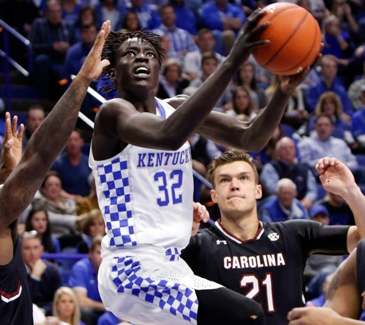 Wenyen Gabriel represents 676 of the 762 total minutes of Division I experience likely members of Kentucky's rotation will have when the season begins.
