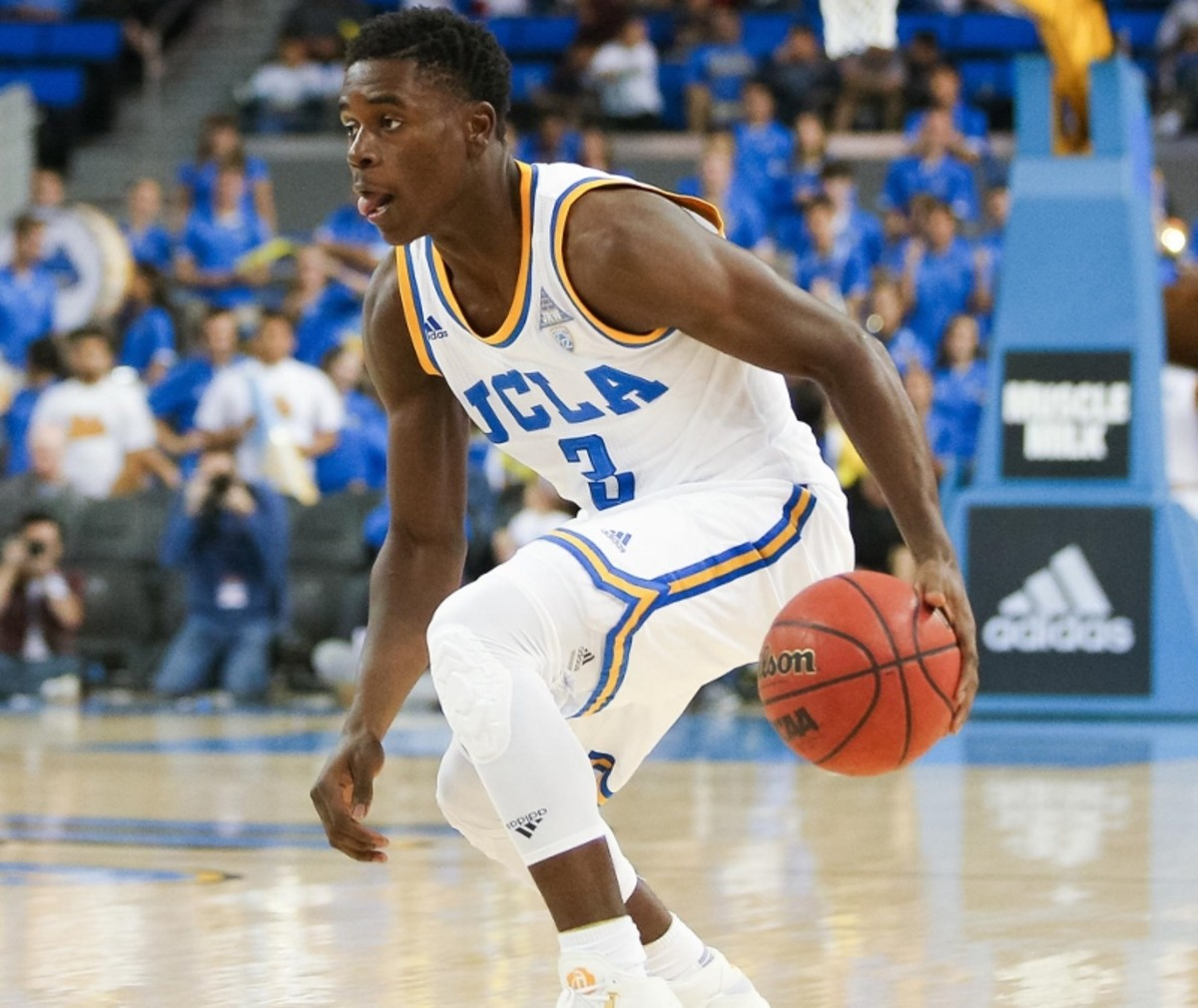 Aaron Holiday suddenly finds himself as the big name point guard at UCLA.