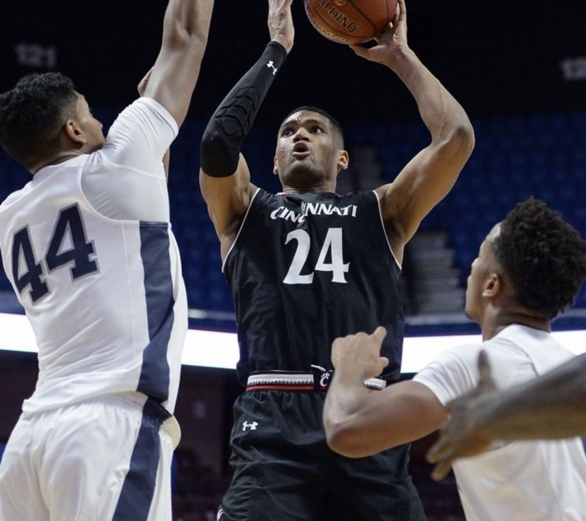 Kyle Washington fit in right away after transferring from NC State.