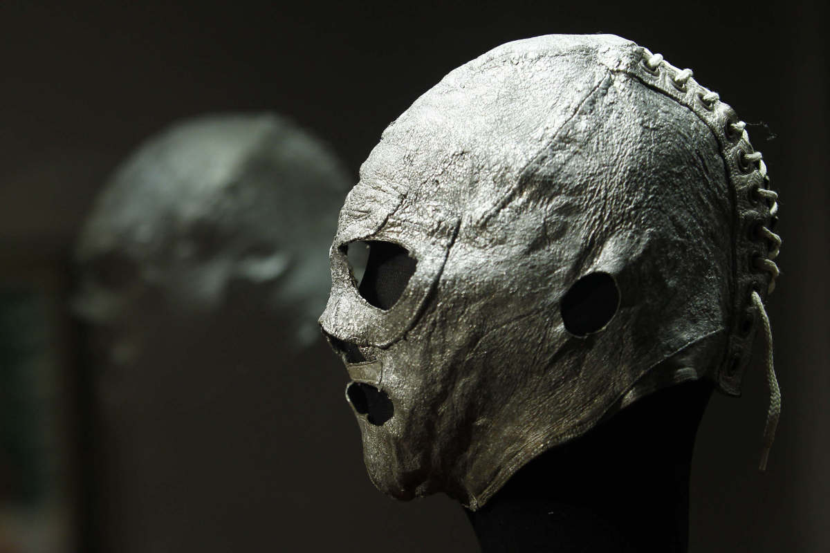 Supposedly the first mask ever worn by El Santo