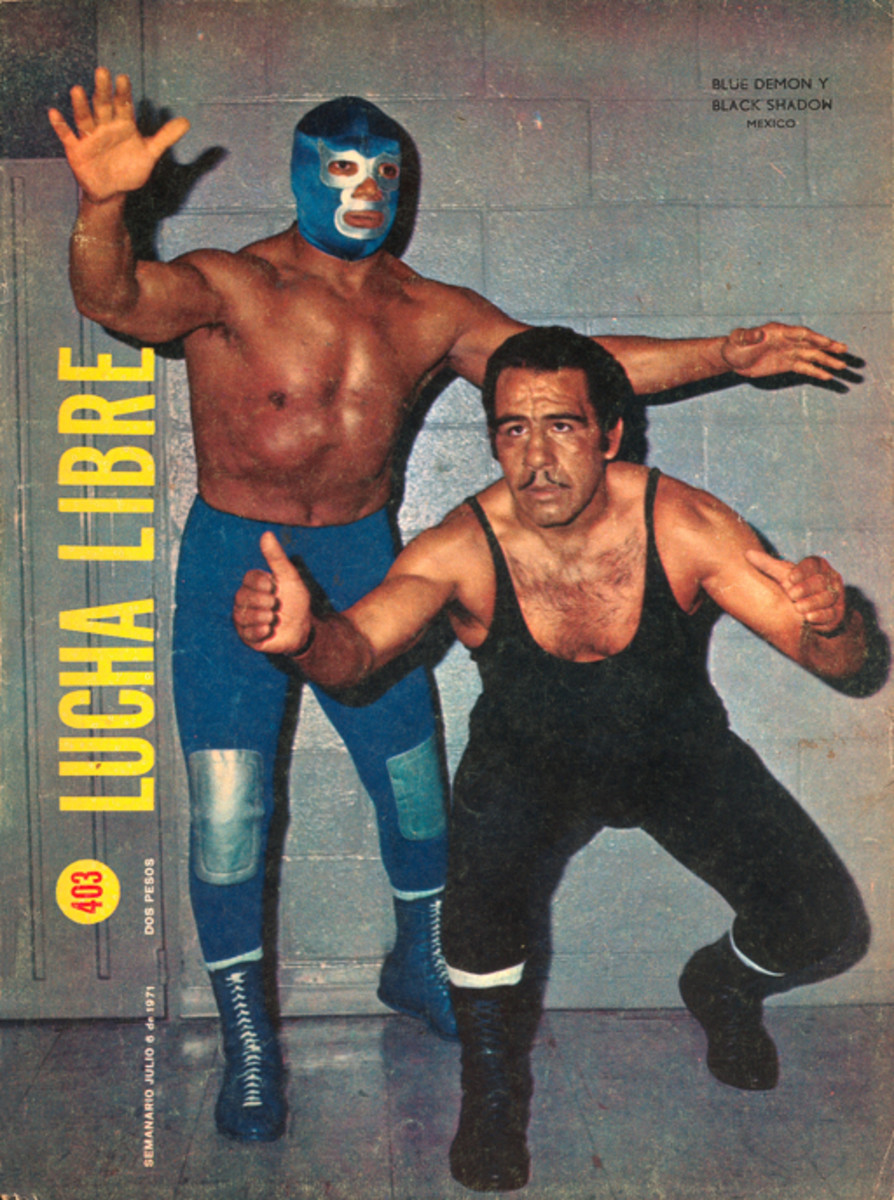 Blue Demon and Black Shadow