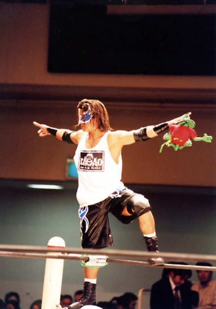 Ricky during one of his first appearances in Japan