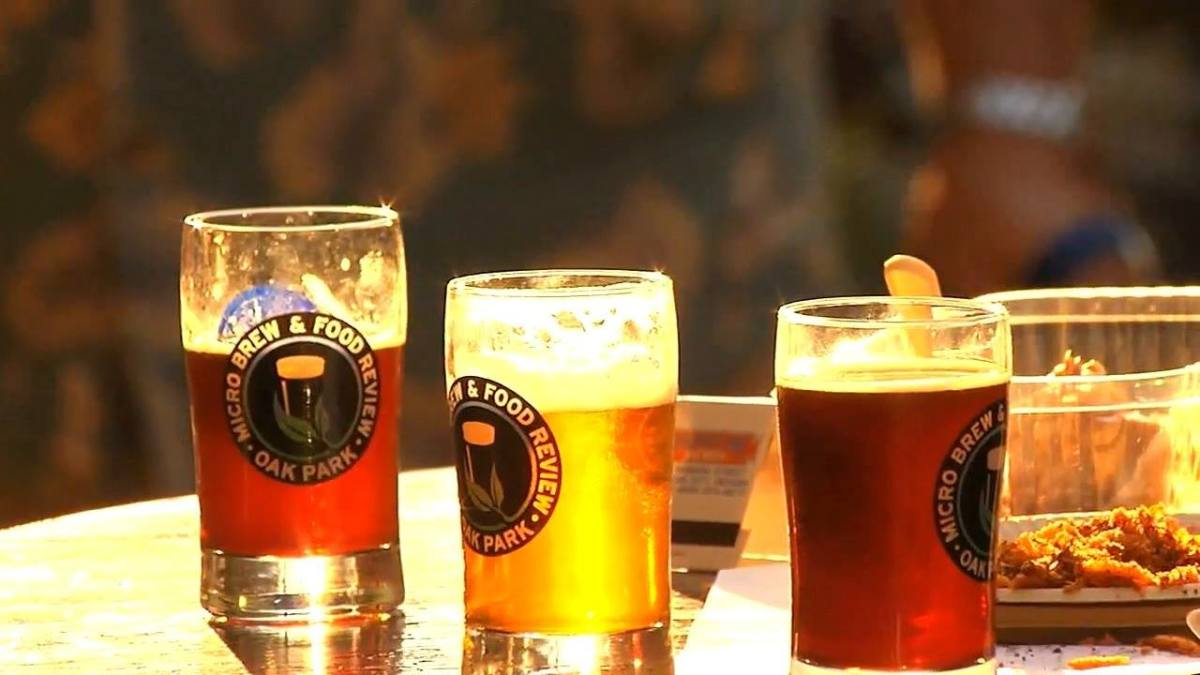 The Oak Park Micro Brew Review lets you sample over 80 micro brews from local breweries and around the country