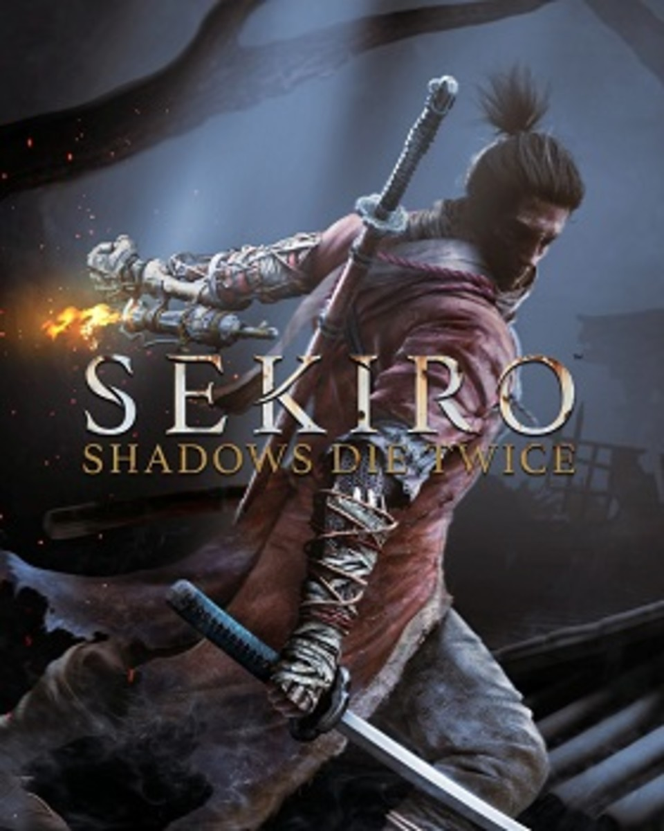 "This is the cover art for ""Sekiro: Shadows Die Twice."" The cover art copyright is believed to belong to the distributor of the game or the publisher, Activision or the developers, FromSoftware."