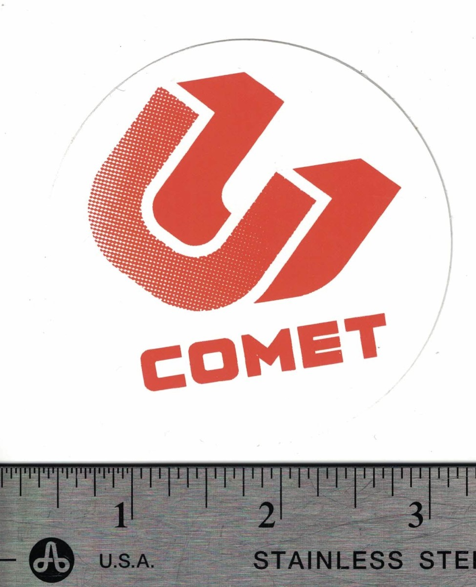 Free stickers from comet skateboards comet takes a unique approach when