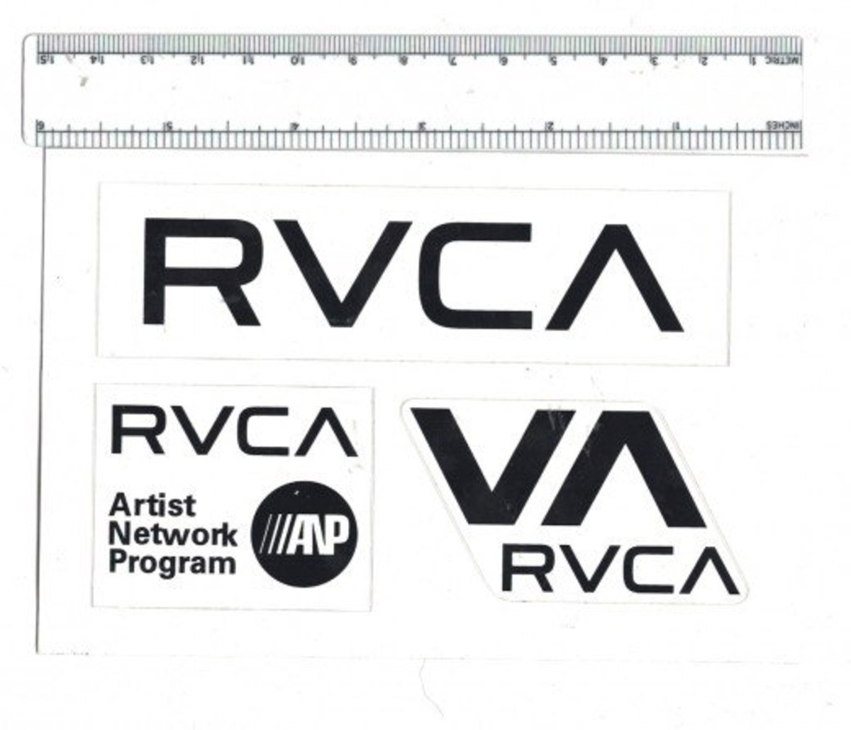 Free stickers from rvca