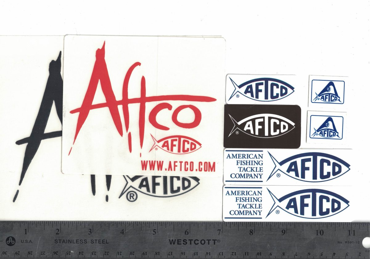 These companies will send you free stickers 06 for American fishing tackle company