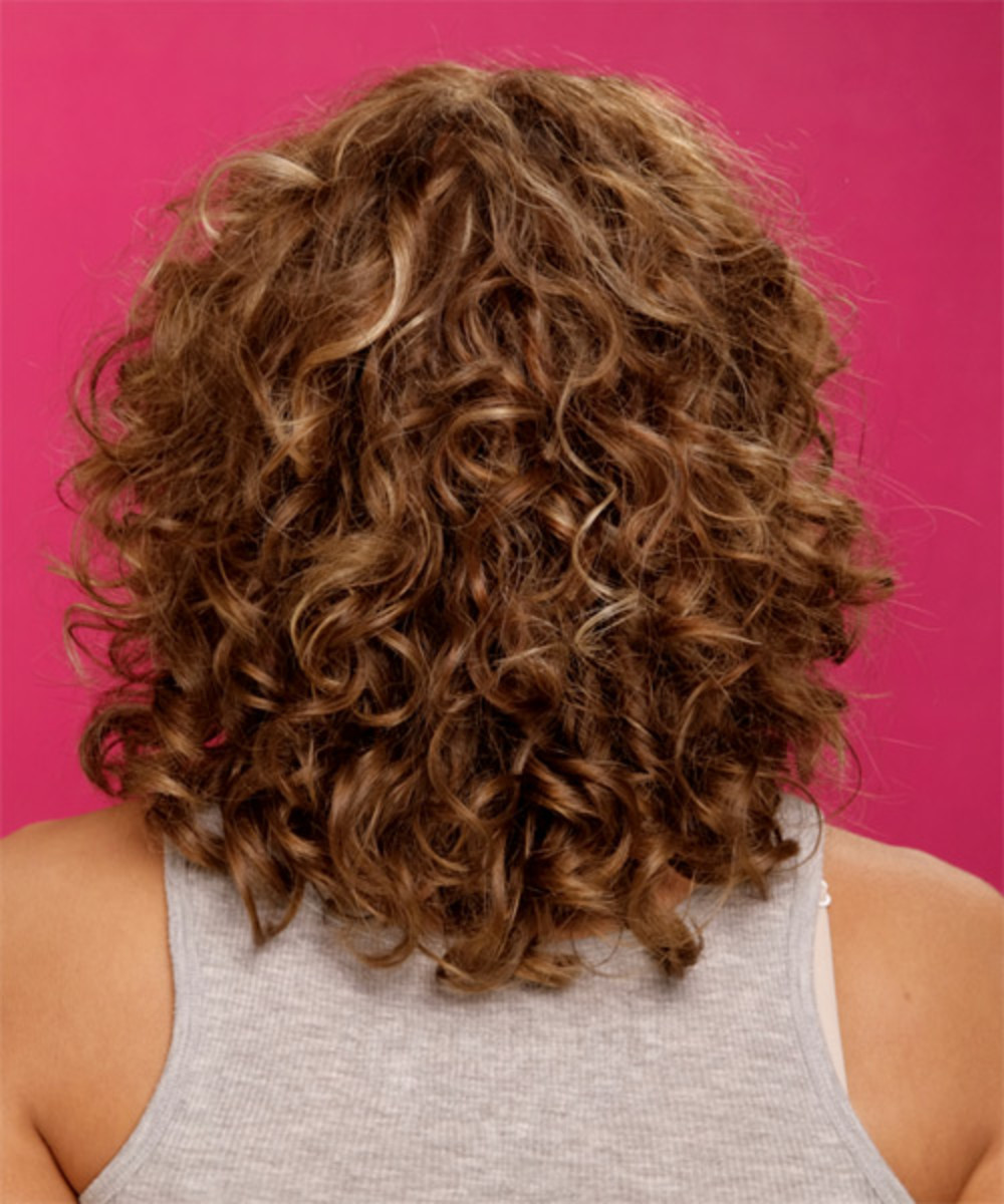 Medium Curly Hair - Curly Hairstyles - Curly Medium Hair Styles