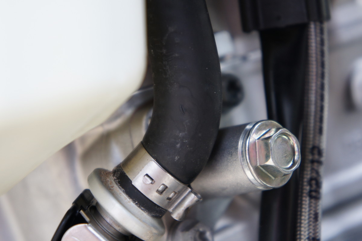 When installing the fuel pressure regulator, all fuel lines should properly tighten.