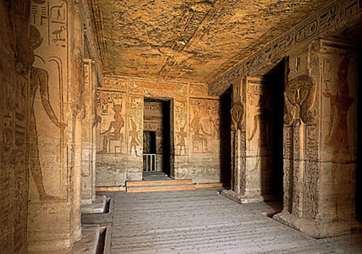 Abu Simbel Temple Enterance