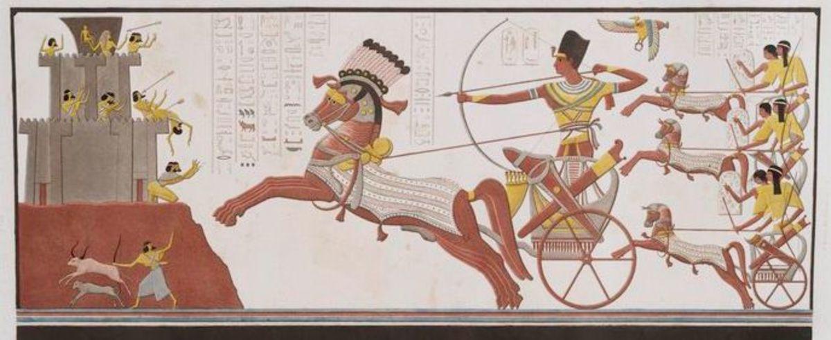 Ramses II - Chariot