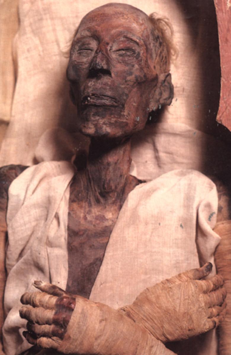 Ramses II mummy