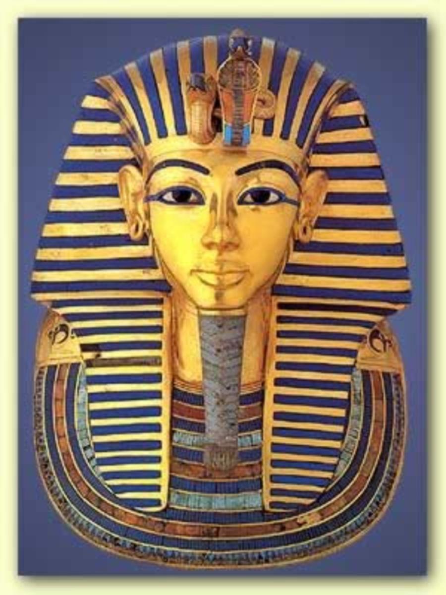 Tutankhamun - Funerary mask