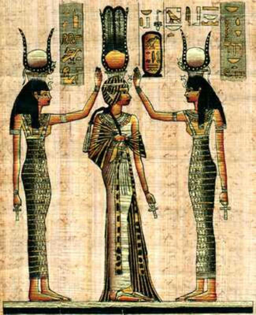Coronation of Queen Nefertari