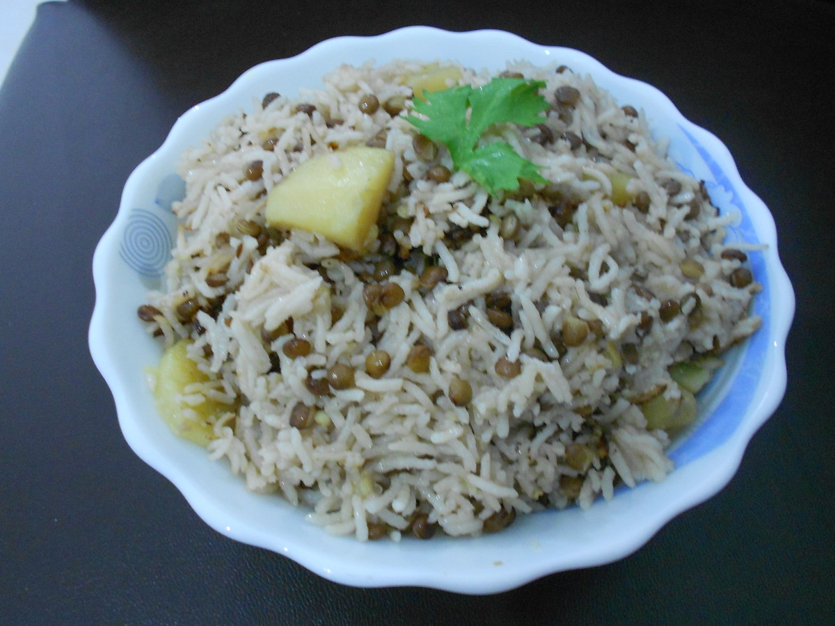 Recipe for Masoor Pulao