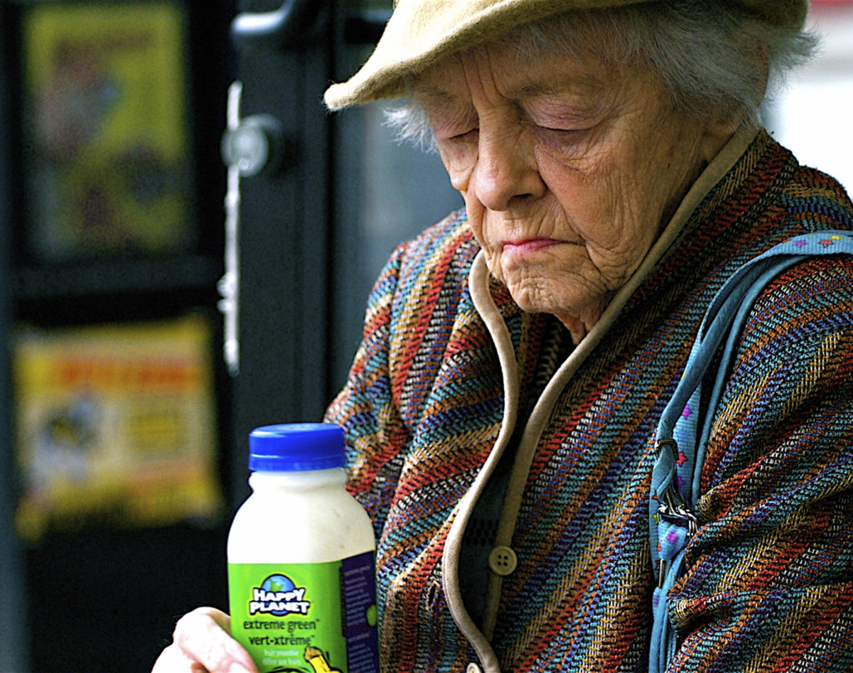 Thanks to the Older Americans Act elderly people can obtain healthy, nutritious food.