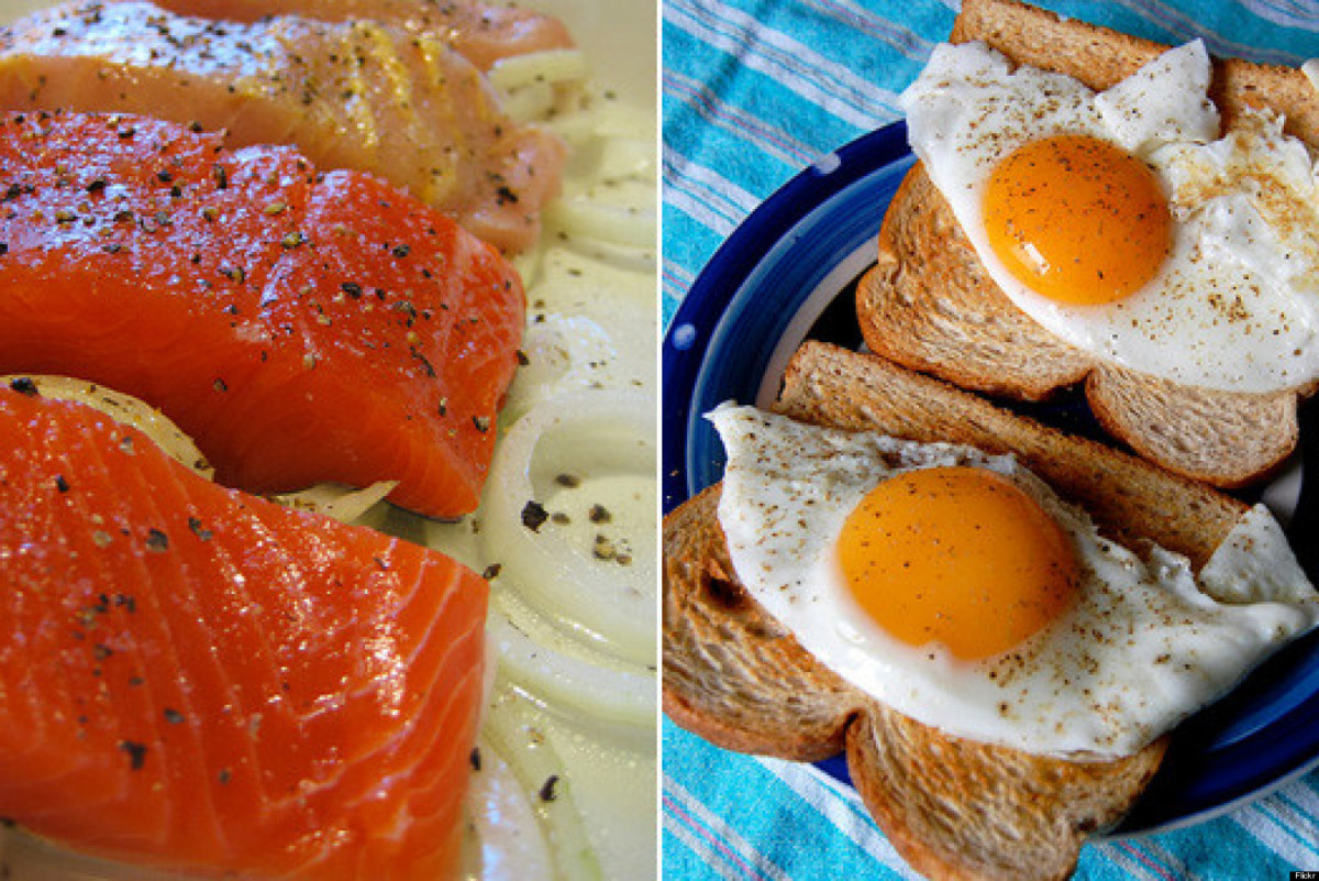 There are plenty of foods that are rich in vitamin D.