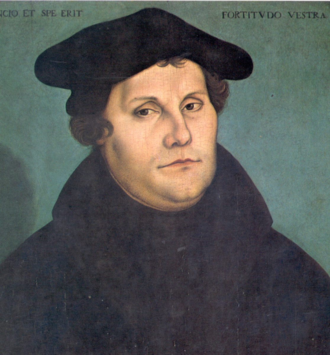 Martin Luther in 1533 at the age of 50.