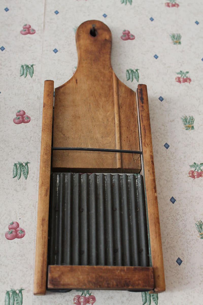 Close up of a vegetable slicer