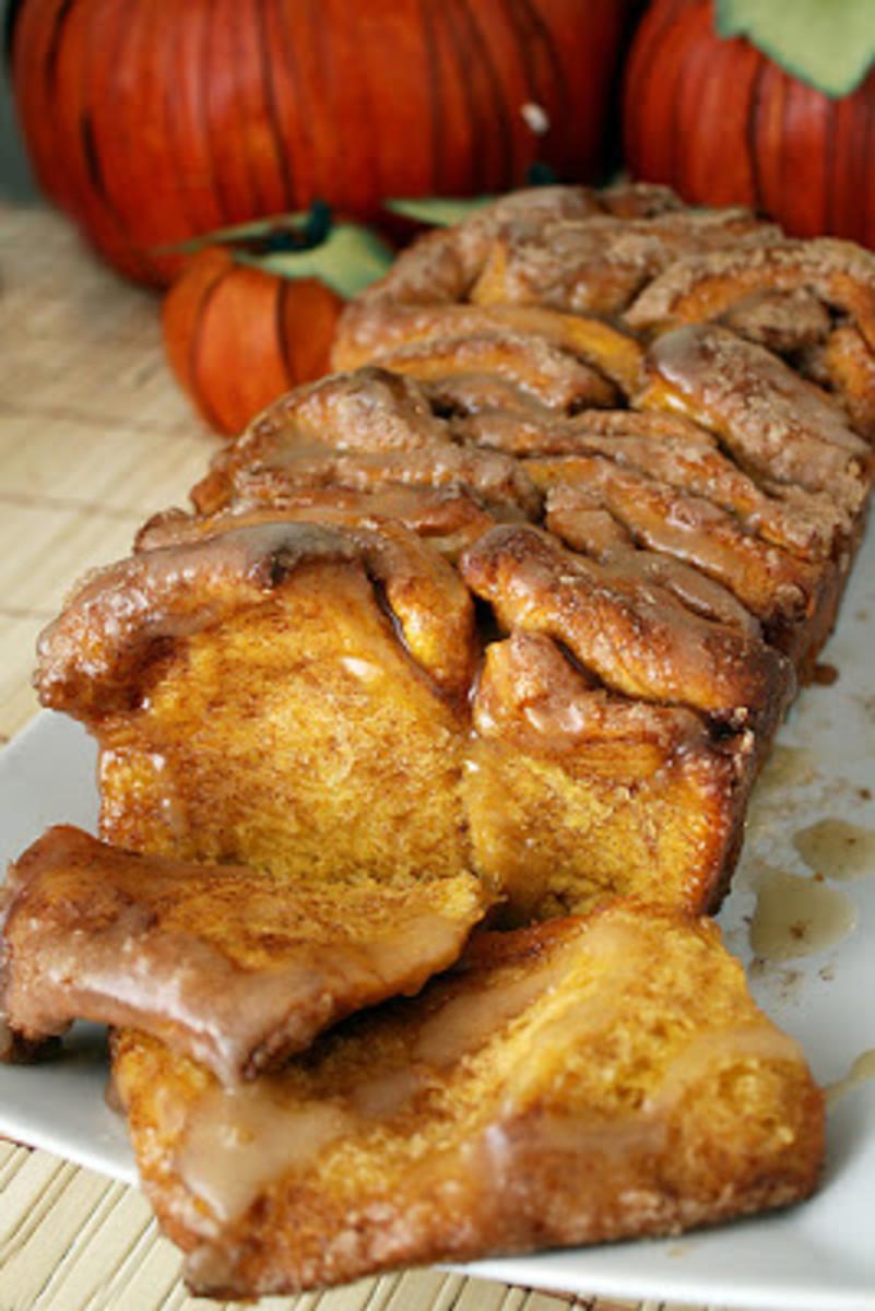 Cinnamon Sugar Pumpkin Bread Recipe!