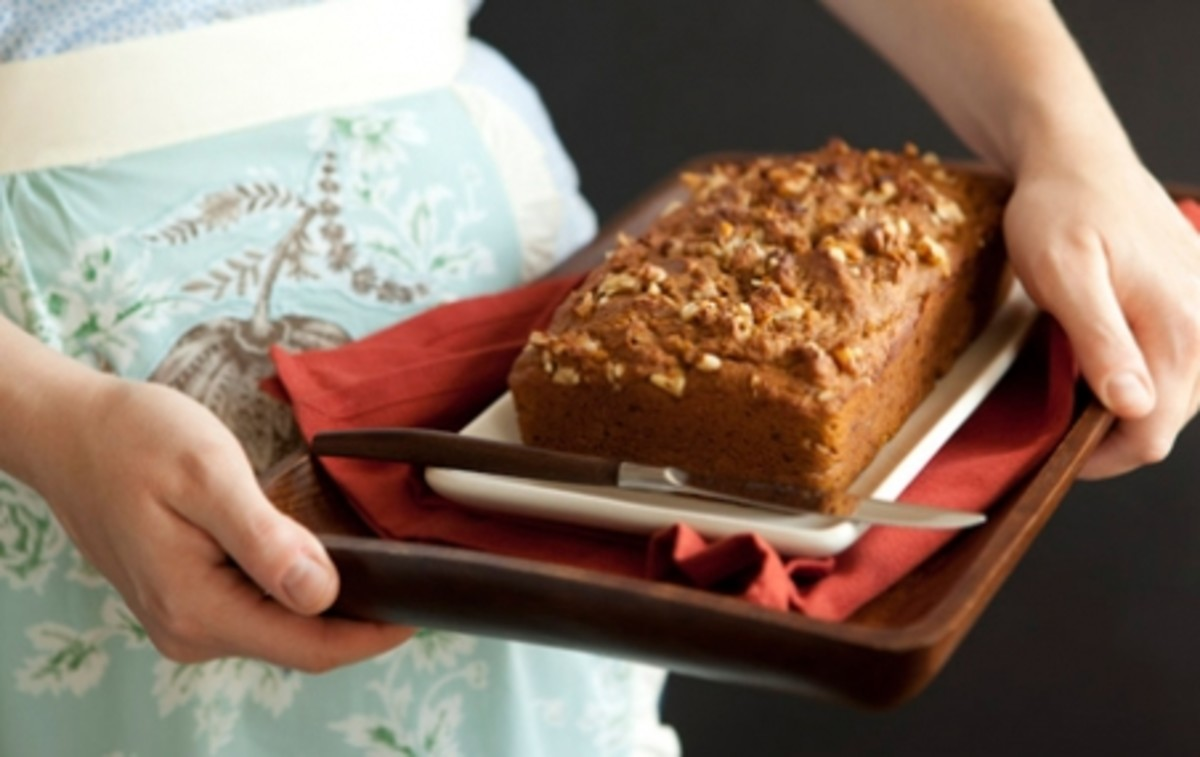 Tasty Honey Walnut Pumpkin Bread Recipe