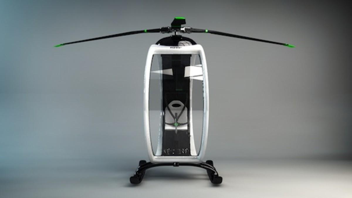 Ultramodern Zero Personal Helicopter