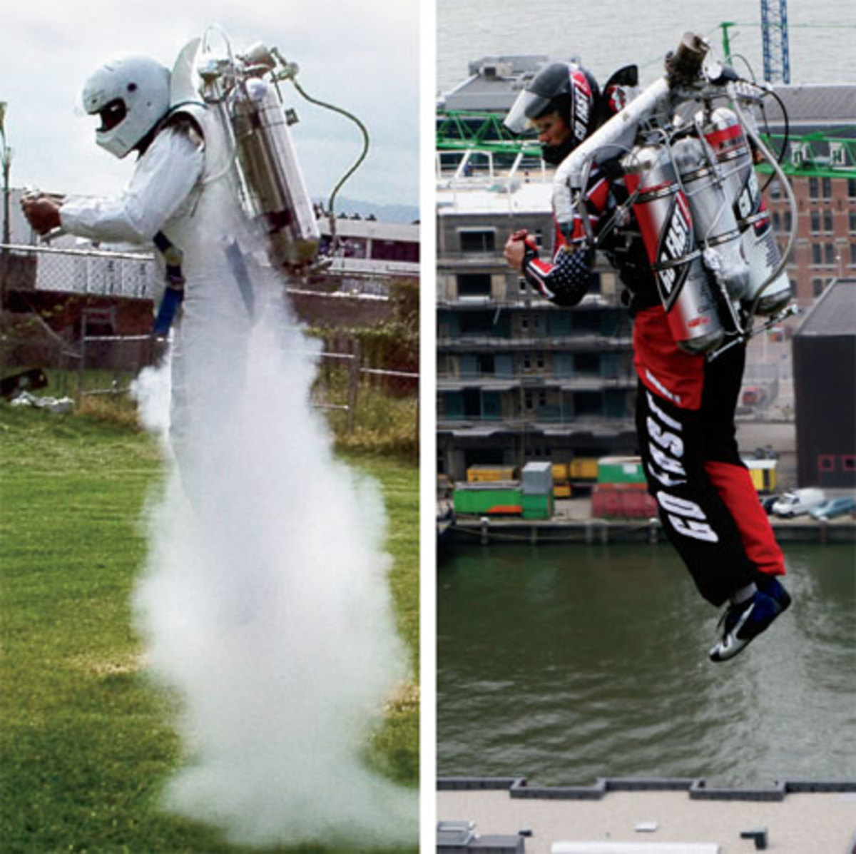 Fly with jetpack