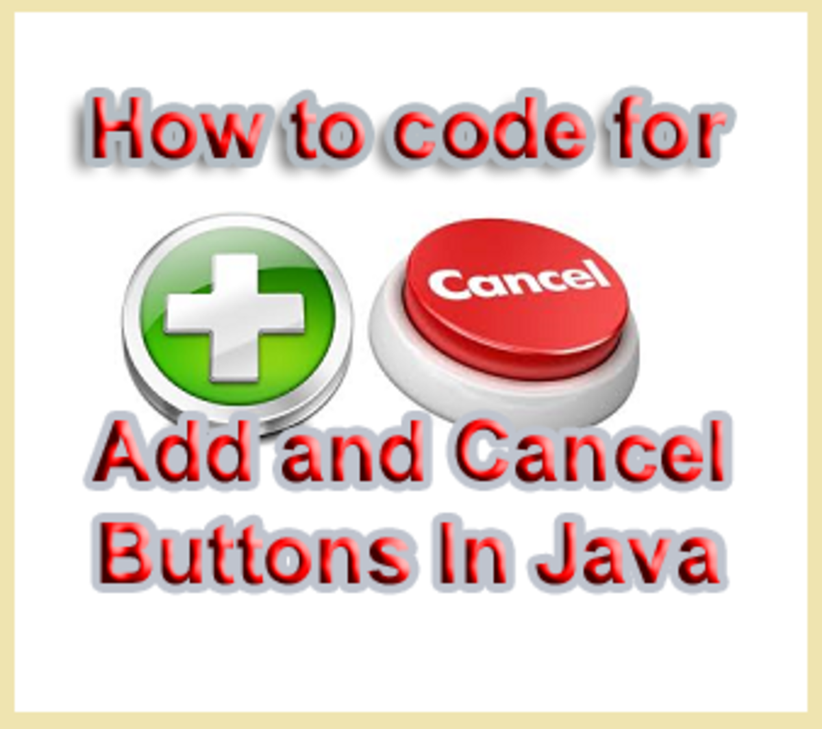 How To Code For Cancel And Add New Record Buttons In Java NetBeans