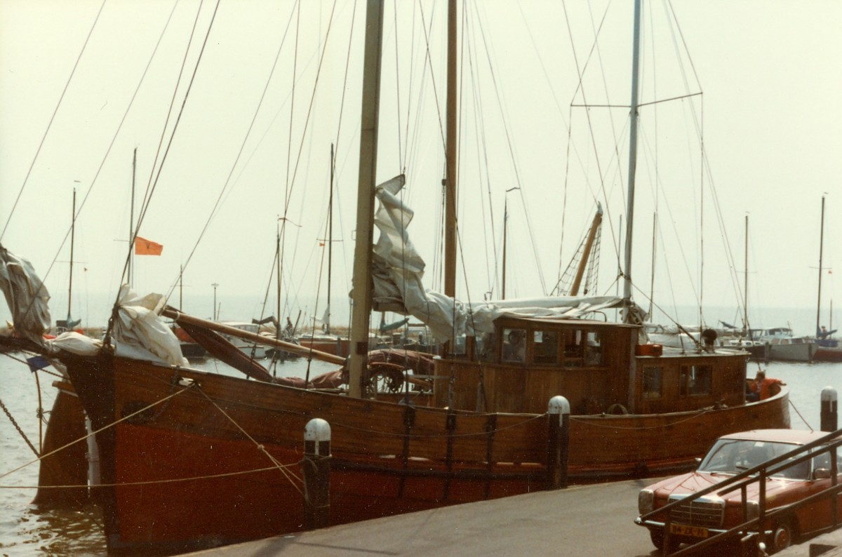The ship we sailed to Maarken