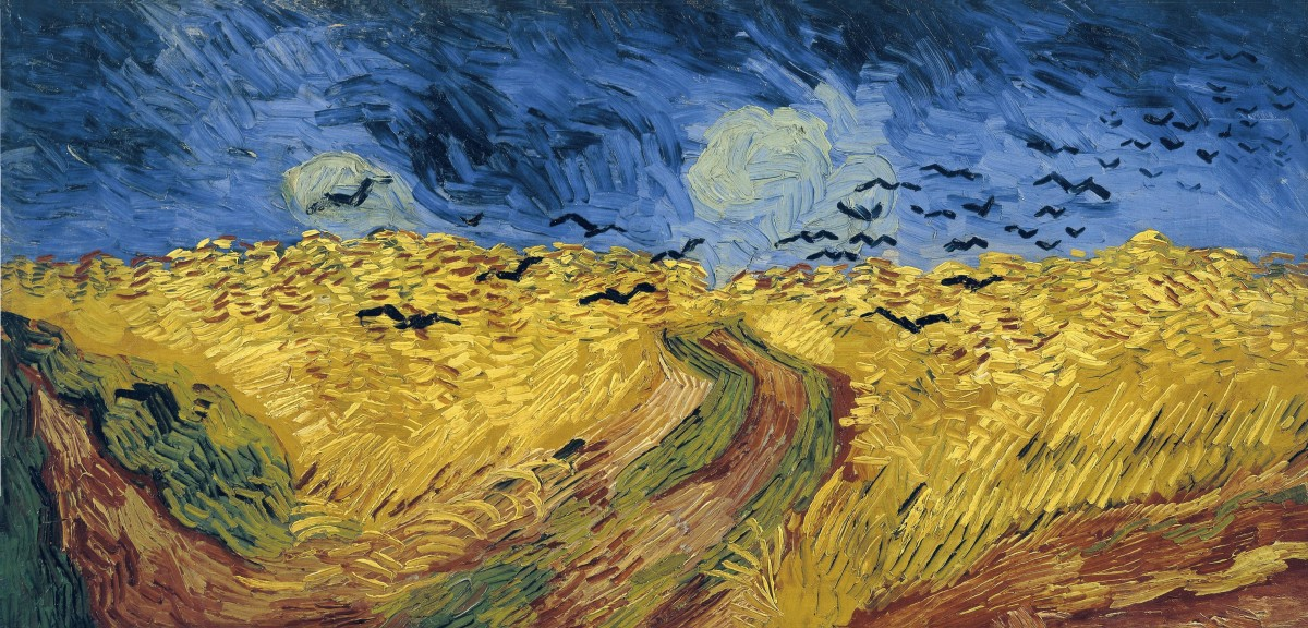 Painted in July 1890 said to be Vincent Van Gogh's last painting.