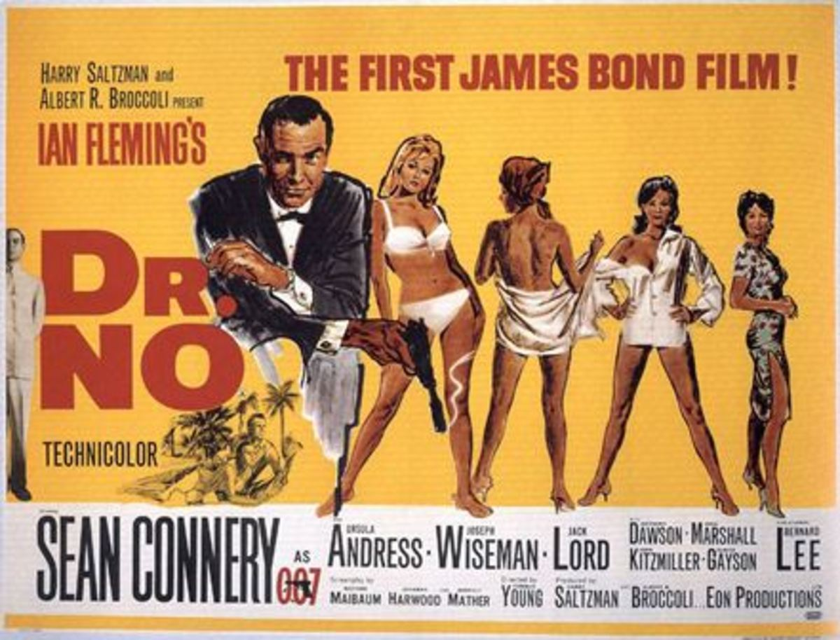 The first Bond novel adapted to film, starring Sean Connery as James Bond.