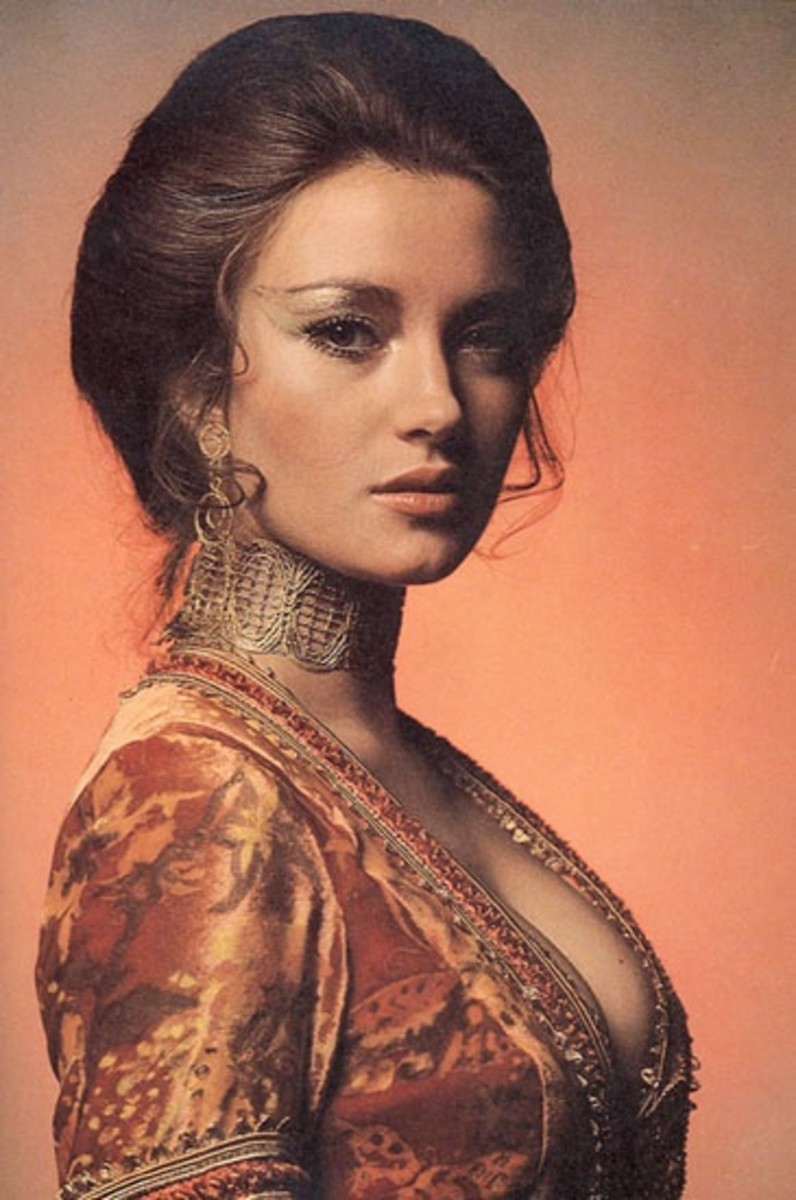 Jane Seymour from Live and Let Die (1973)