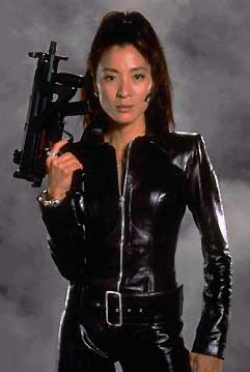 Michelle Yeoh from Tomorrow Never Dies (1997)