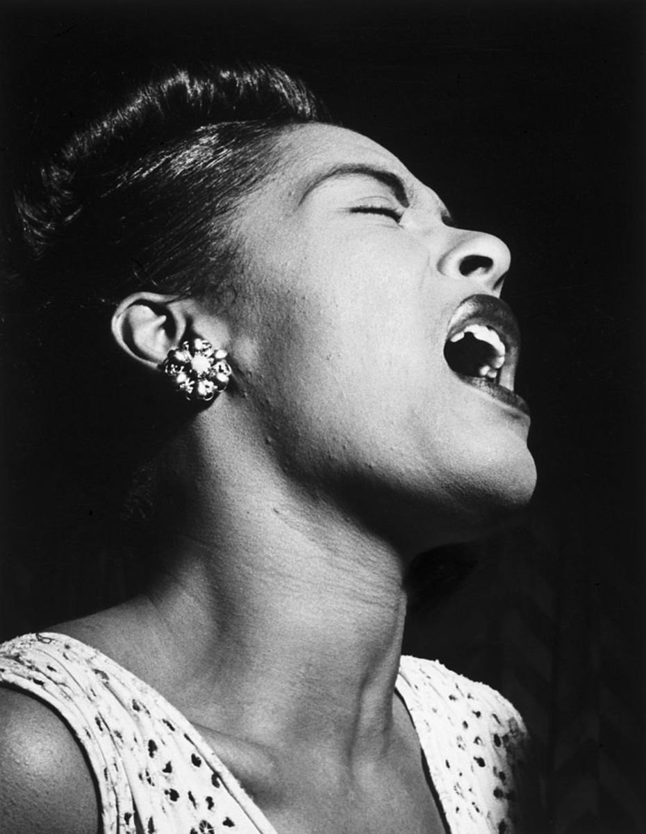 """If I'm going to sing like someone else, then I don't need to sing at all.""  Billie Holiday New York 1947"