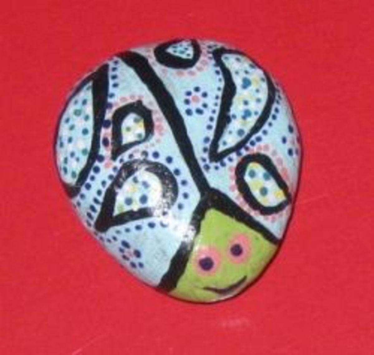 Paisley lady bug.