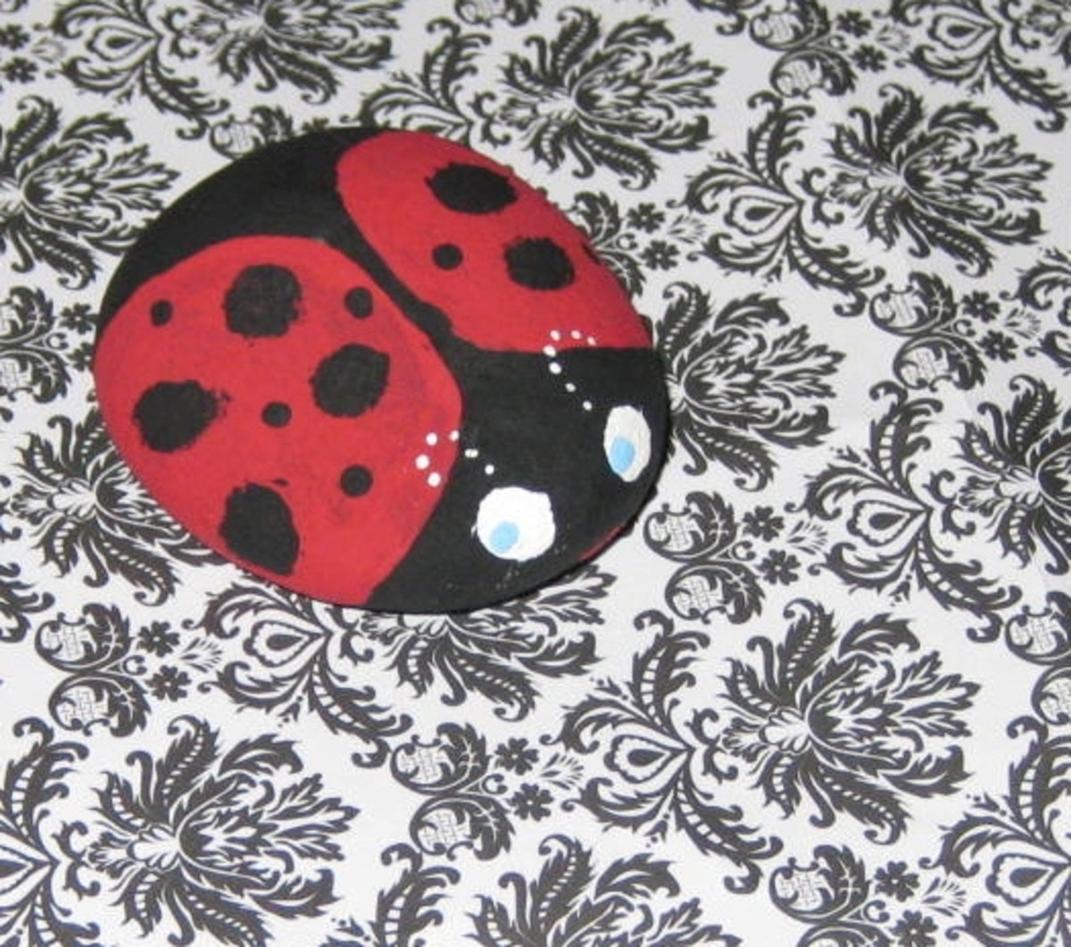 Ladybug, Project No. 1, July 2011.All photos here by Peggy Hazelwood.