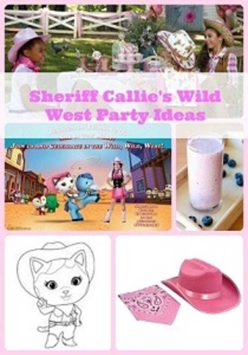 Sheriff Callie's Wild West Birthday Party Supplies & Theme Ideas