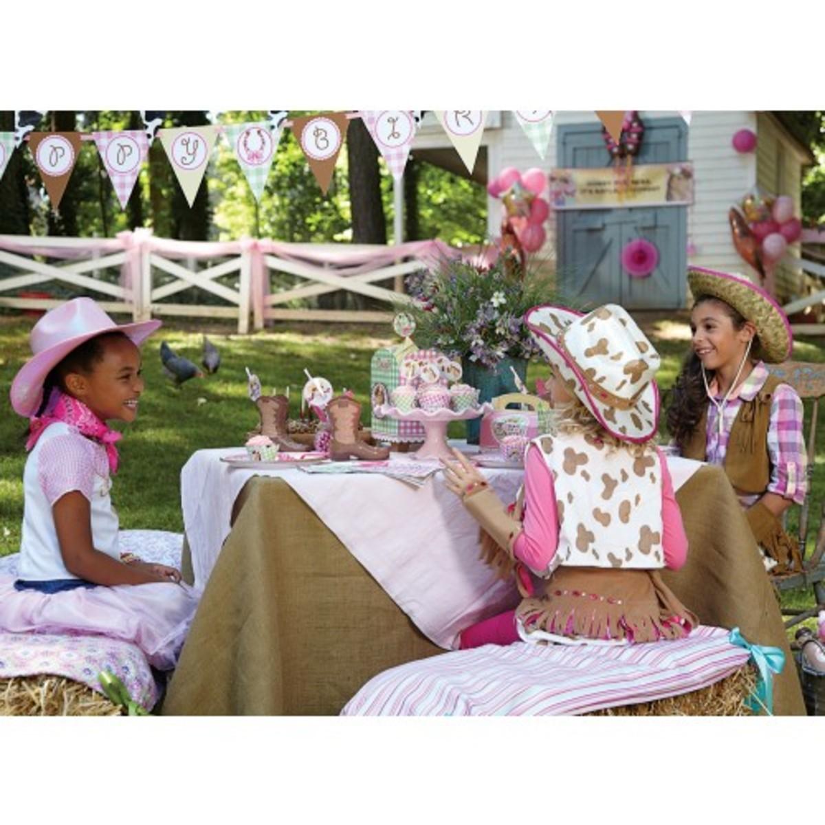Pink Cowgirl Birthday Supplies