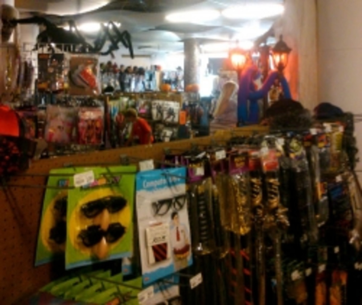 Halloween Store on Lincoln Ave.